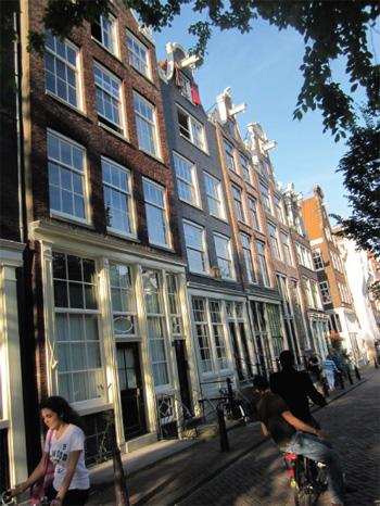 Къщи в Амстердам