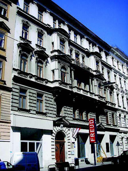 Домът на Фройд на ул. Берггасе