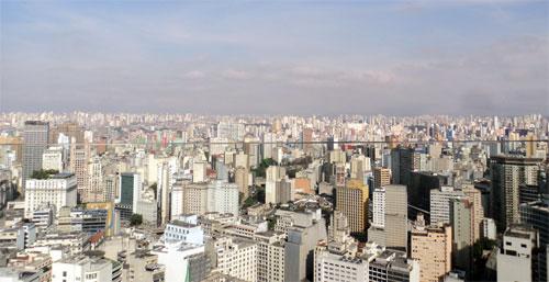 Сао Пауло - безкрайната бетонна джунгла