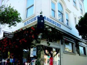 Този град е Мека на хипи-движението, родило се и израснало около ъгъла на улиците Ashbery и Haight.