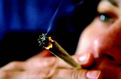 Пушене на джойнт (марихуана)