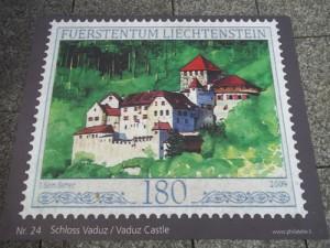 Лихтенщайнска пощенска марка